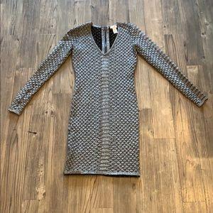 👗 NWOT Silver Cache Sweater Dress, Size XS